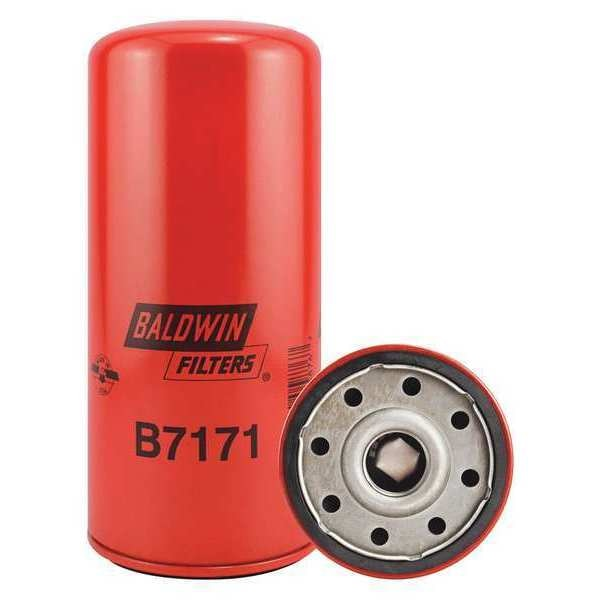 "Baldwin Filters Oil Filter, Spin-On, 9-1/8""x4-1/4""x9-1/8"" B7171"