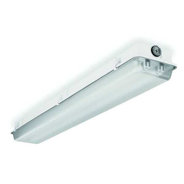 Lithonia Lighting Dust Resistant Fixture, T8, 56W, 120-277V DMW 2 32 MVOLT GEB10IS WWGR
