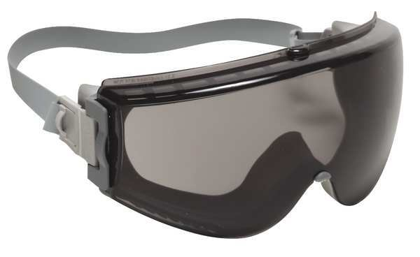 Honeywell Uvex Impact Resistant Safety Goggles,  Gray Anti-Fog Lens,  Uvex Stealth Series S3961C