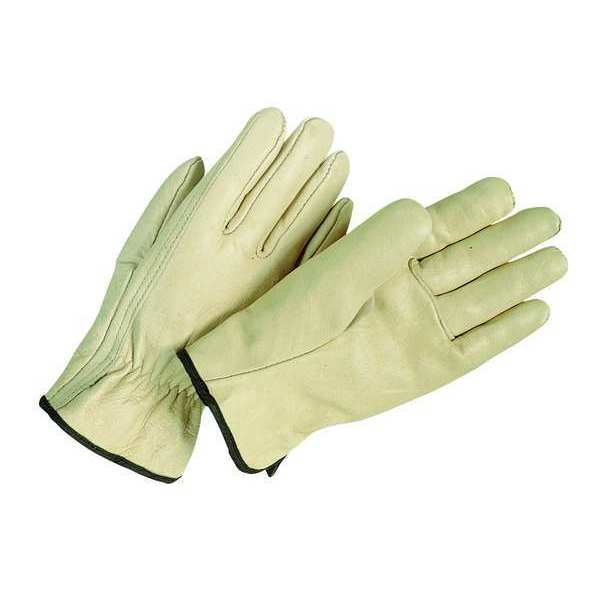 Condor Leather Drivers Gloves, L, Beige, PR 20GZ13