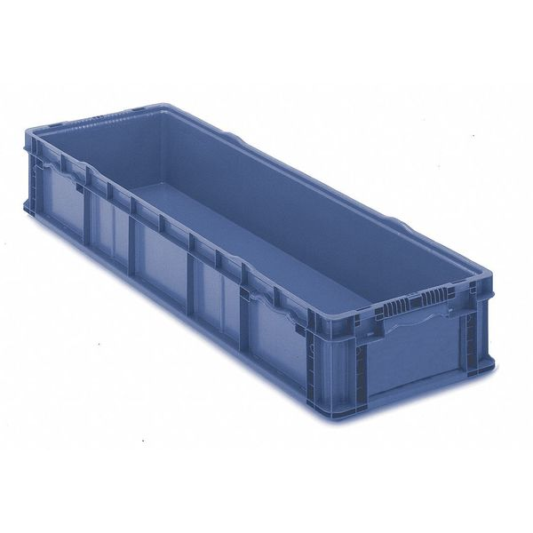 Orbis Blue Straight Wall Container 48 in x 15 in x 7 1/2 in H,  1 PK SO4815-7 Blue