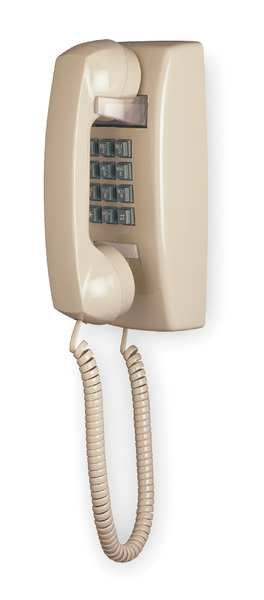 Cetis Standard Wall Phone,  Ash,  Ringer: Bell 2554W NOMW (AS)