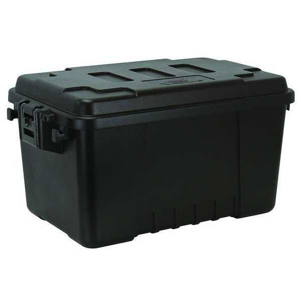 Plano Molding Black Storage Trunk 24 in x 15 in x 13 in H,  1 PK 1619-00