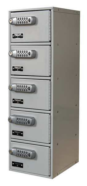 Hallowell Cell Phone Locker, 9inWx12inDx30-1/2inH UCTL192(30)-5A-E-PL