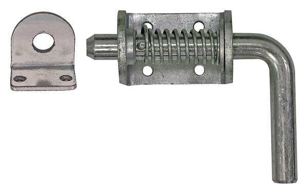Buyers Products Spring Latch Assembly,  Silver B2596LKB