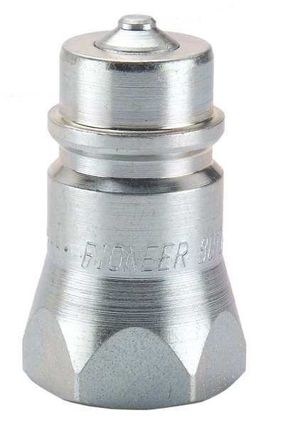 Pioneer Coupler Nipple, 1/4-18, 1/4 In. Body, Steel 4010-2P