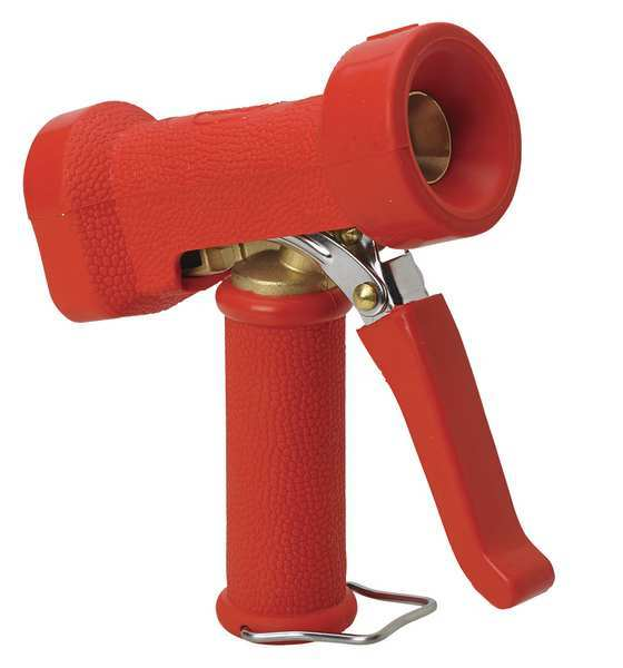 Vikan Water Nozzle, 350 psi, 5-1/2In, Red 93244