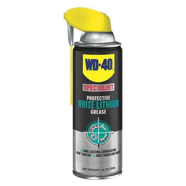 Wd-40 Specialist Lithium Grease,  Petroleum,  10 Oz.,  Aerosol 300615