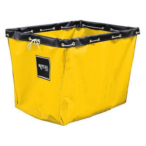 Royal Basket Truck Replacement Liner, 6 Bu, yellow Vinyl G06-YYX-LNN
