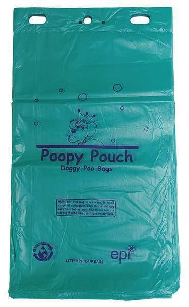 Poopy Pouch Pet Waste Bags,  0.75 gal.,  14 micron,  PK12 PP-H-200