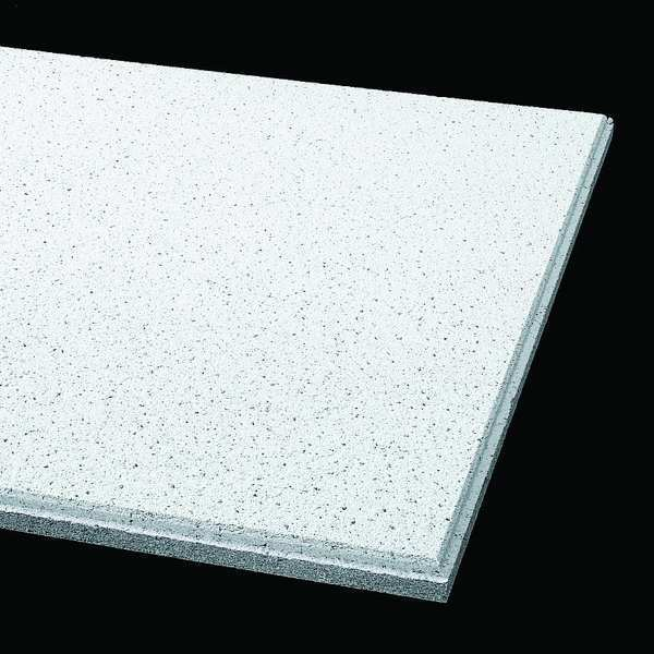 Armstrong Fine Fissured Ceiling Tile ,  24 in W x 24 in L,  10 PK,  0.75 NRC 1756B