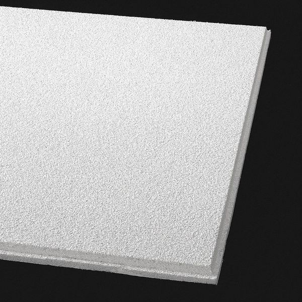 Armstrong Dune Ceiling Tile ,  24 in W x 48 in L,  10 PK,  0.5 NRC 2722A