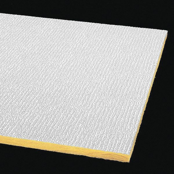 Armstrong Shasta Ceiling Tile ,  24 in W x 48 in L,  16 PK,  0.5 NRC 2907