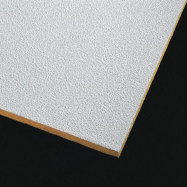 Armstrong Pebble Ceiling Tile,  24 in W x 48 in L ,  PK10 0.8 NRC 2989
