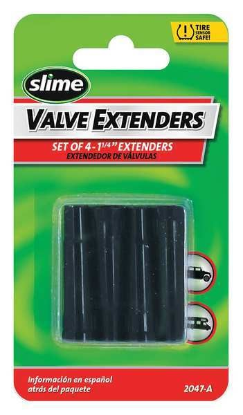 Slime Valve Extenders, Plastic, 1/4 In. 2047-A