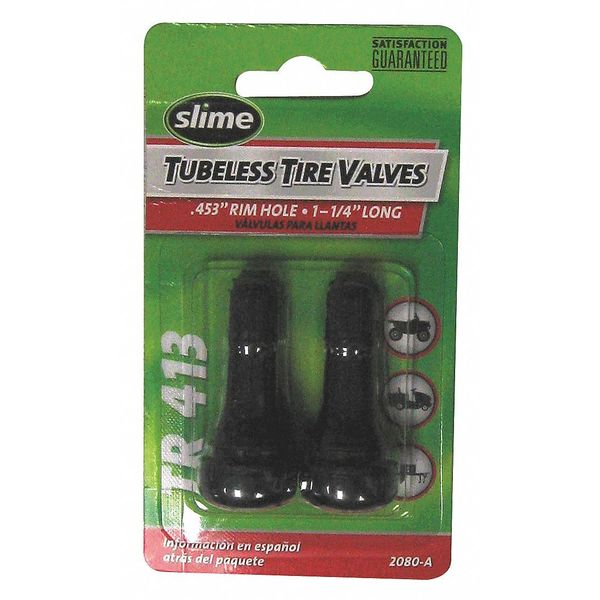 Slime Tire Valve Stems, 1 1/4 In. 2080-A