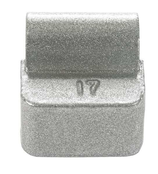 Perfect Equipment Wheel Weight, Lead Uncoated, 2 Oz., PK25 I7-015