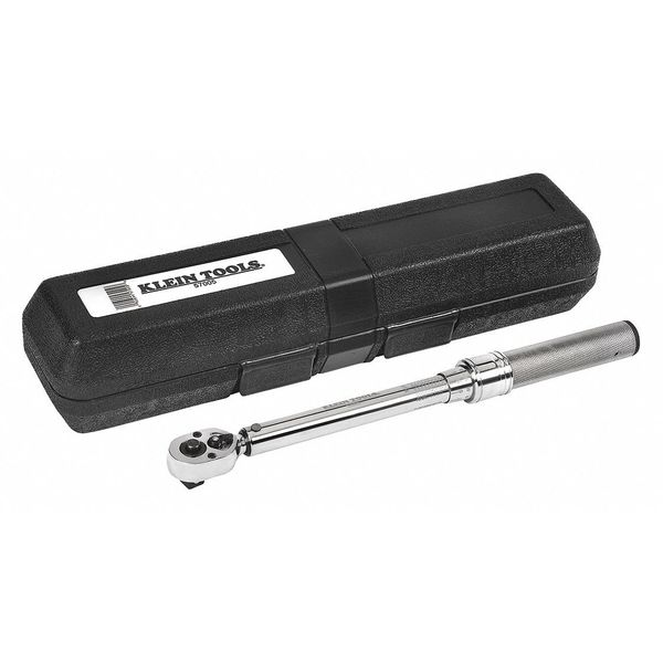 """Klein Tools Torque Wrench, Square Drive, 3/8"""" 57005"""