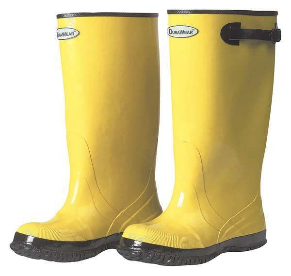 Zoro Select Overboots, Mens, Size 10, Yellow, PR 151010