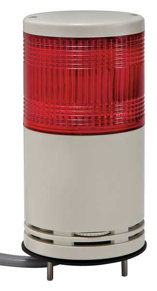 Schneider Electric Tower Light, 100mm, Red, Base Mount XVC1M1SK
