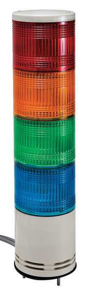 Schneider Electric Tower Light, 100mm, Red, Orange, Green, Blue XVC1M4K
