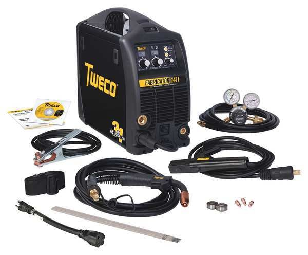 Esab Multiprocess Welder,  Fabricator 3-in-1 141i Series,  115 W1003141