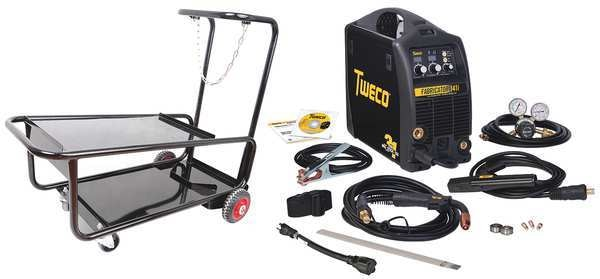 Esab Multiprocess Welder,  Fabricator 3-in-1 141i Series,  115 W1003142