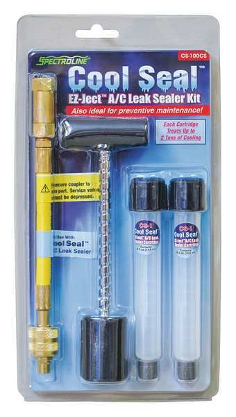 Spectroline A/C Leak Sealer Kit, Up to 4 tons CS-100CS