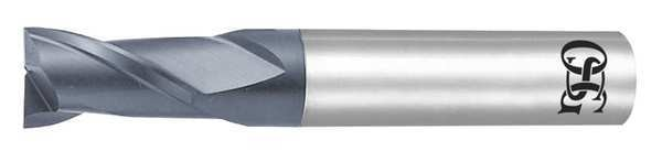 Osg Carbide End Mill, 0.50mm dia, 0.75mm Cut L 3181805