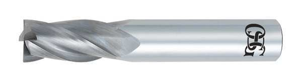 "Osg Square End Mill, 1.500"" L, 0.125"" dia. 404-0939"