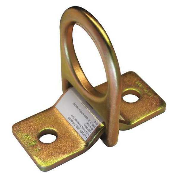 Condor D-Ring Plate Anchor, Plated Alloy Steel 35KU72