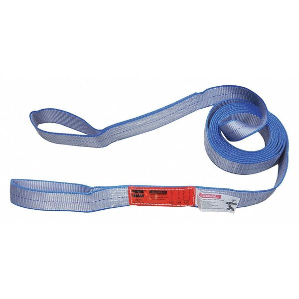 Dayton Web Sling, 14 ft., 8-1/2 in. L 35XH25
