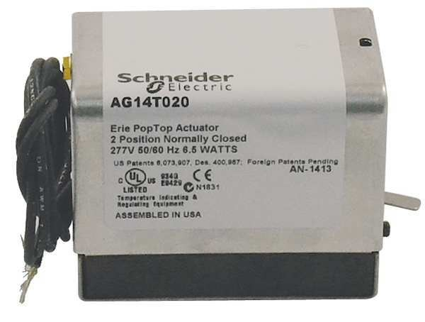 Schneider Electric Actuator, w/out Aux Switch, On/Off AG14T020