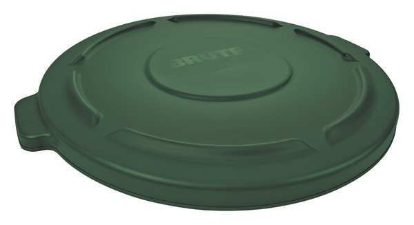 Rubbermaid Brute Round  Dark Green  Trash Can FG263100DGRN