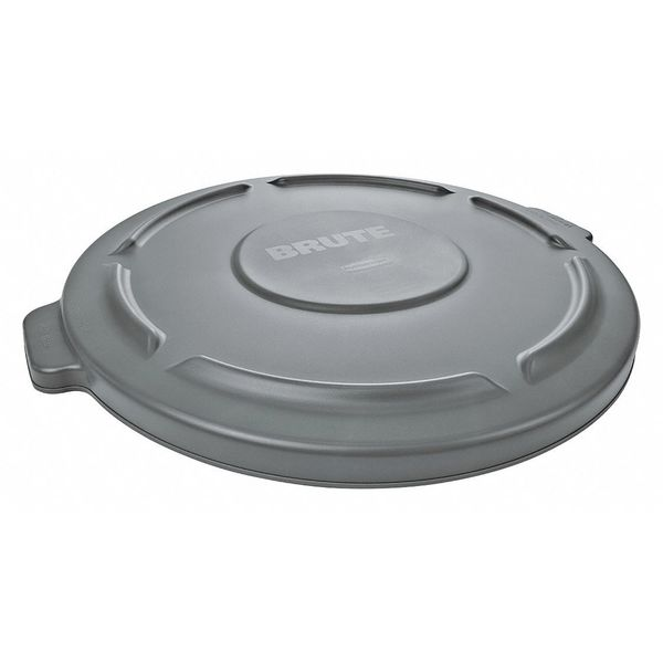 Rubbermaid Brute Round  Gray  Trash Can Top FG263100GRAY