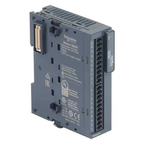 Schneider Electric Ext Module, TM3, 8 inputs, 24VDC, 0 outputs TM3AI8