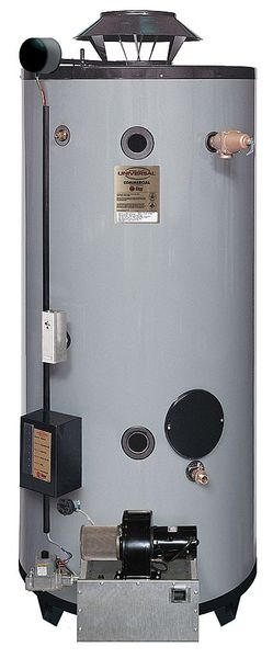 Rheem-Ruud Natural and LP Gas Commercial Gas Water Heater,  100 gal.,  120V AC GNU100-200