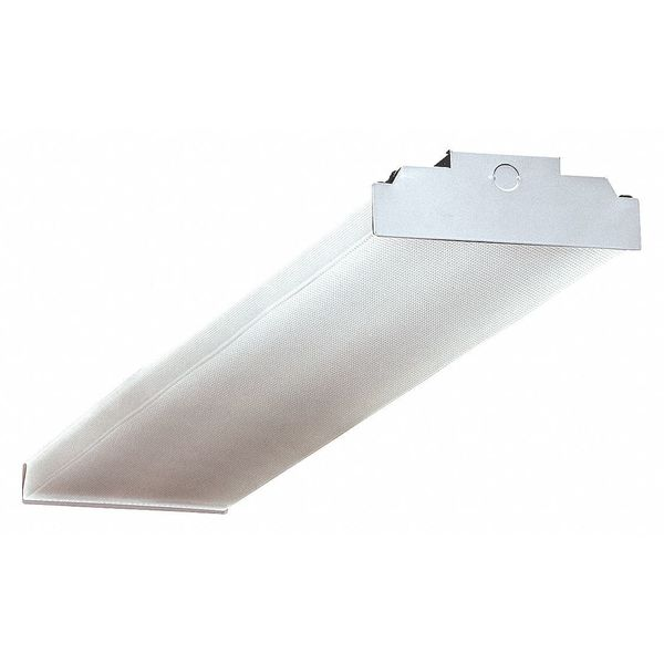 Hubbell Lighting - Columbia LED 4 ft. Wraparound Fixture, 4500 lm, 37W CWP4-4040