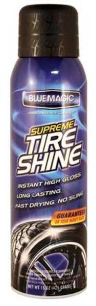 Blue Magic Tire Shine, 15 Oz., Aerosol 680-06