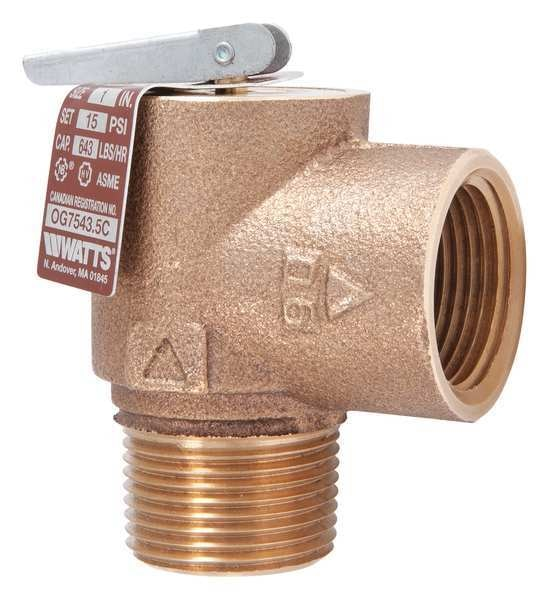 Watts Steam Safety Relief Valve, 3-1/8 in. 0006277