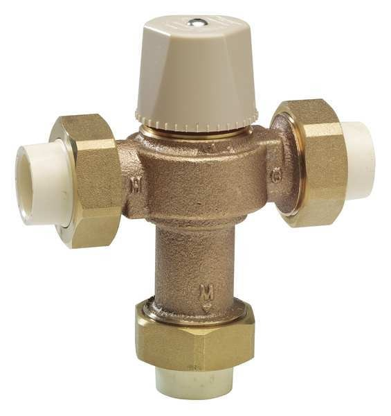 Watts Thermostatic Mixing Valve, 3/4 in. 0006270