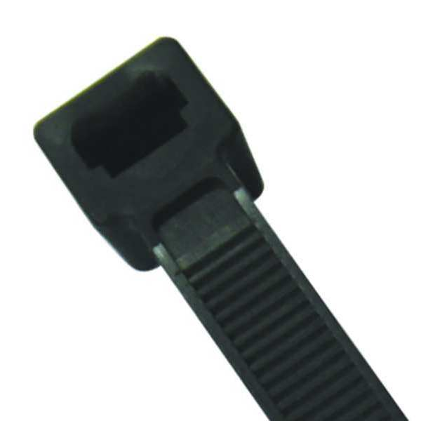 "Power First 14.5"" L,  0.19"" W,  Black Nylon Cable Tie 36J158"
