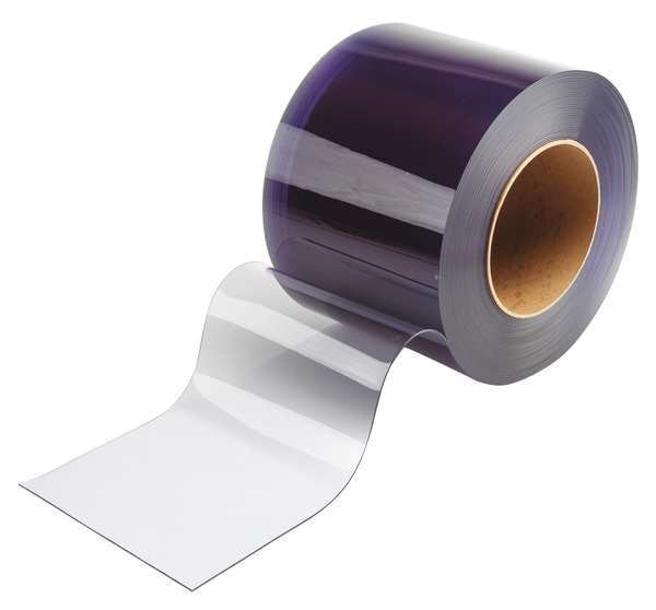 Tmi Flexible Bulk Rolls, Smooth, 8in, Clear, PVC 999-00117
