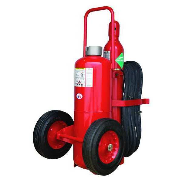 Badger Fire Extinguisher,  40A:240B:C,  Dry Chemical,  145 lb B150A-1