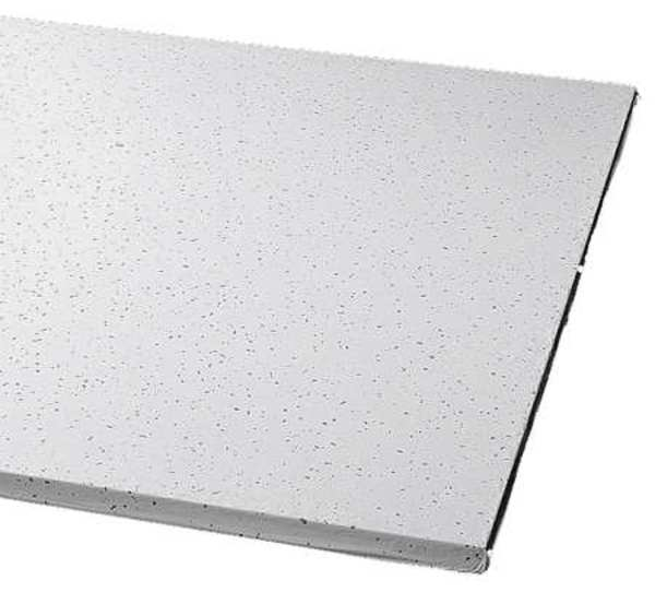 Armstrong Clean Room Ceiling Tile ,  24 in W x 48 in L,  8 PK,  0.55 NRC 1721B