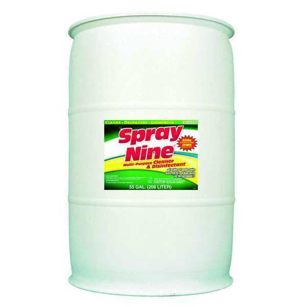 Spray Nine Cleaner and Disinfectant,  citrus,  Clear 26855