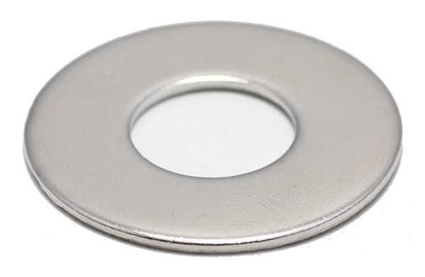 """Foreverbolt 5/16"""" x 11/16"""" OD NL-19(R) Finish 18-8 Stainless Steel Flat Washers,  25 pk. FBFLWASH516SOD2P25"""
