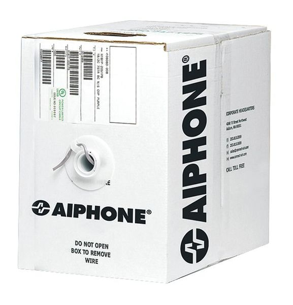 Aiphone 18 AWG 4 Conductor Non-Shielded Wire 500 ft. 87180450C