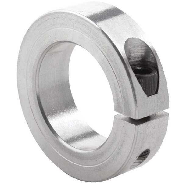 Climax Metal Products Shaft Collar, Std, Clamp, 2 in. Bore dia 1C-200-A