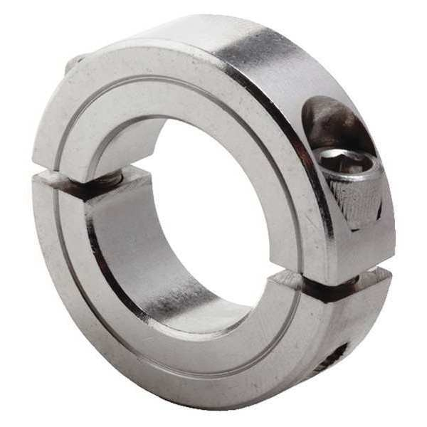 Climax Metal Products Shaft Collar, Std, Clamp, 1inBoredia. CR2C-100-S